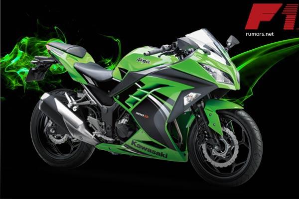 Kawasaki-ninja-300-เขียวดำ