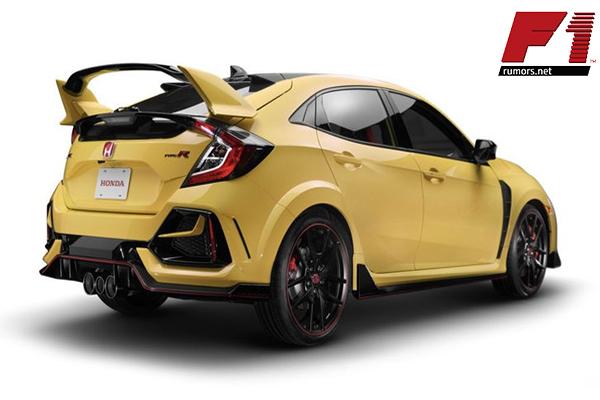 เปิดปุ๊บ จองหมดปั๊บ!! Honda Civic Type R Limited Edition F1rumors Car Bigbike Motorsport Honda Civic Type R