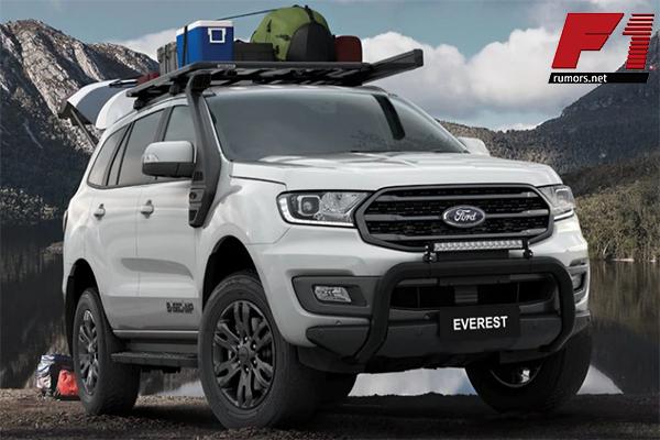 เผยโฉม!! รุ่นพิเศษ 450 คันที่ออสเตรเลีย Ford Everest BaseCamp 2021 F1rumors Car Bigbike Motorsport Ford EverestBaseCamp2021