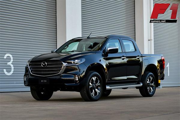 สวย!! All New Mazda BT-50 2021 ที่หลายคนติดตาม F1rumors Car Bigbike Motorsport AllNewMazda MazdaBT-50