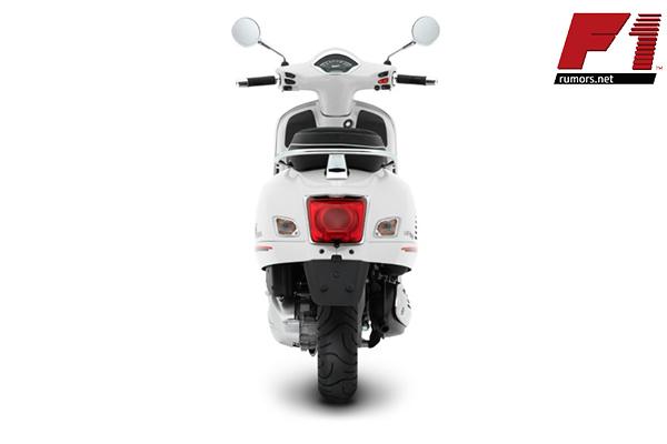 เปิดภาพ ดีไซน์ใหม่ Vespa GTS Super Sport 300 HPE 2021 สีขาว White Innocenza สไตล์เรโทรโมเดิร์นสปอร์ต F1rumors Car Bigbike Motorsport Vespa GTSSuperSport300