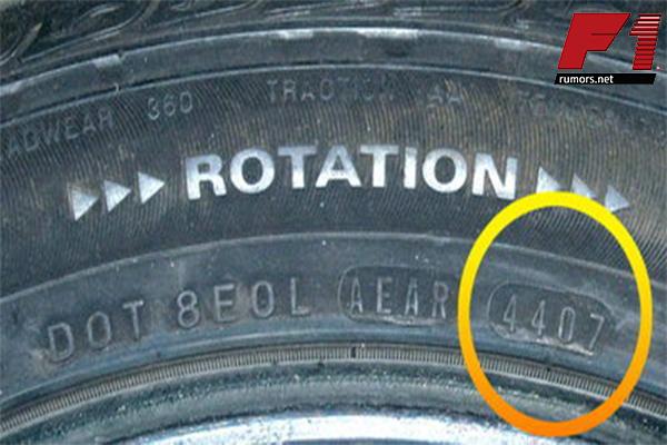 วิธีเช็คยางเก่าค้างปี ดูให้เป็นก่อนเปลี่ยนยาง F1rumors Car Bigbike Motorsport วิธีเช็คยางเก่า