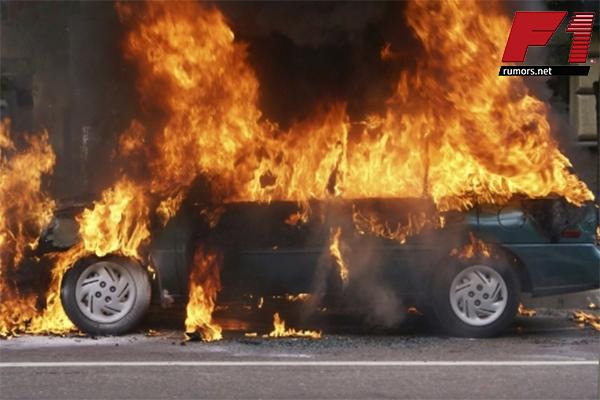 ต้องระวัง!! ความผิดพลาดที่จะส่งผลทำให้ไฟไหม้รถยนต์ได้ F1rumors Car Bigbike Motorsport สาเหตุทำให้ไฟไหม้รถยนต์