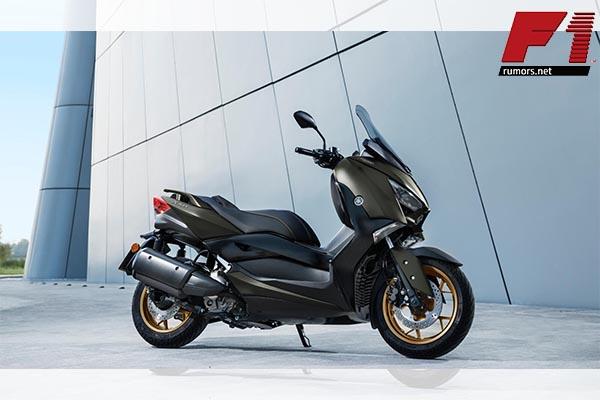 เปิดตัวอย่างเป็นทางการกับรถมอเตอร์ไซค์สปอร์ตออโตเมติก กับรถรุ่น Yamaha XMAX 300 F1rumors Car Bigbike Motorsport Yamaha YamahaXMAX300