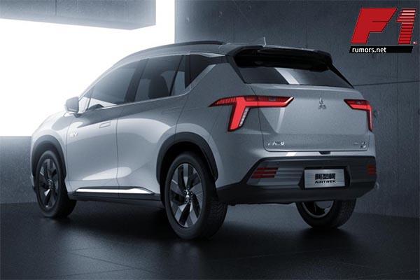 เปิดตัวรถเอชยูวีรุ่นใหม่ Mitsubishi Airtrek EV 2022 รถพลังงานไฟฟ้า 100% F1rumors Car Bigbike Motorsport Mitsubishi MitsubishiAirtrekEV2022