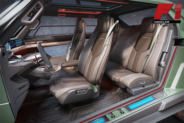 น่าทึ่ง!! Honda Ridgeline EV Concept ต้นแบบรถกระบะไฟฟ้าที่สวย ถึก ทน F1rumors Car Bigbike Motorsport Honda HondaRidgelineEVConcept